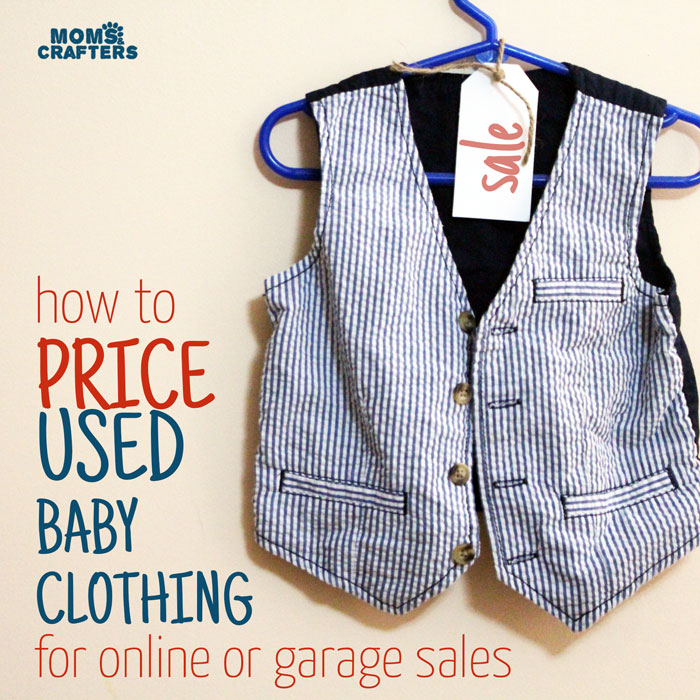 Looking to save money on baby? Selling used baby clothing is a great place to start! Read this tips to help you price your used baby clothing to sell!