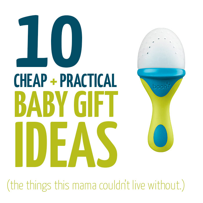 Click to see these 10 inexpensive baby gift ideas - that will make both you and the new mother happy! A mom to mom gift guide. Great for holiday gifts too!