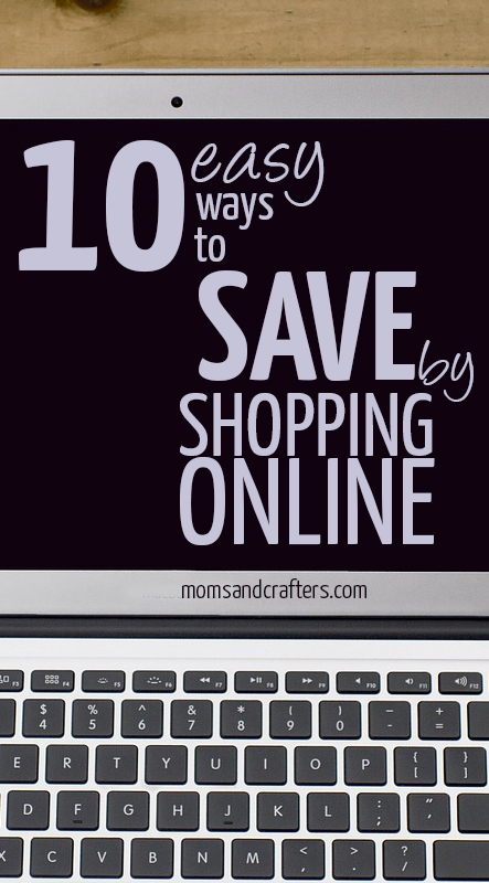 How to save money by shopping online - did you know that 90% of the time it's cheaper to shop online? Here are 10 methods, and services I personally use that help me save lots of money! Frugal living tips