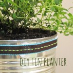 Repurposed Tin Can Planters DIY