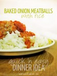 baked onion meatballs recipe