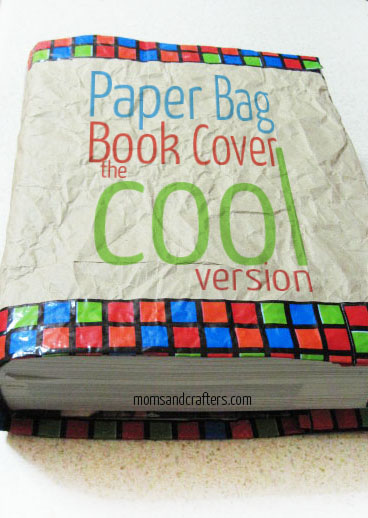Paper Bag Book Cover