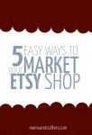 How to Market an Etsy Shop