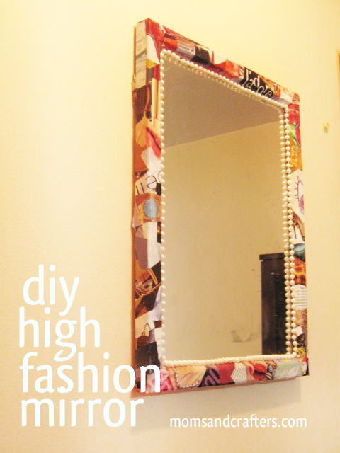 mirror frame diy - Diy Mirror Frame