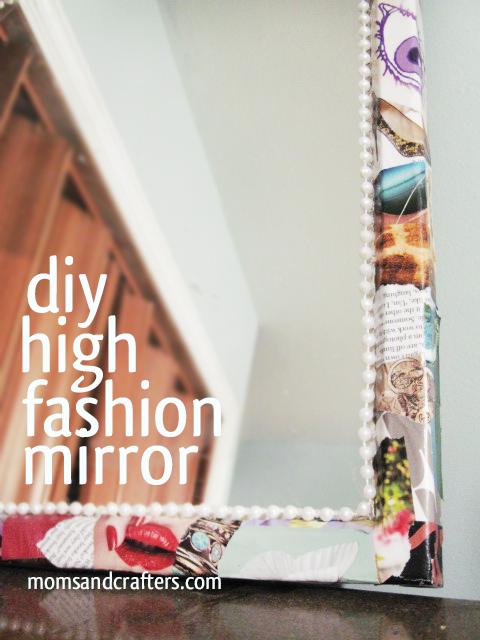 mirror frame DIY