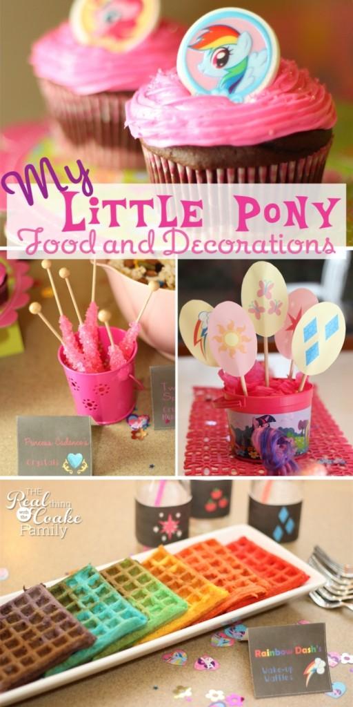 1st birthday themes -my little pony