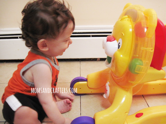 Bright Starts Step n Ride Lion Review