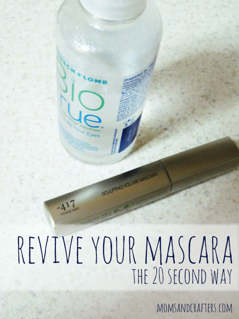 How to revive dried up mascara