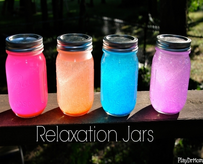Relaxation Jars   Play Dr Mom