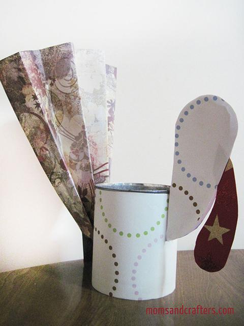 DIY Turkey Centerpiece Craft for Thanksgiving