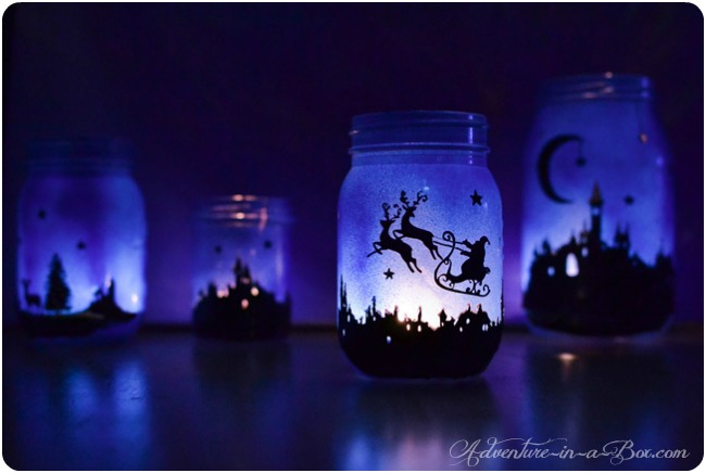 diy-tutorial-making-christmas-lanterns-with-mason-jars-finished-3