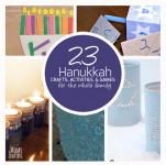 hanukkah crafts and activities