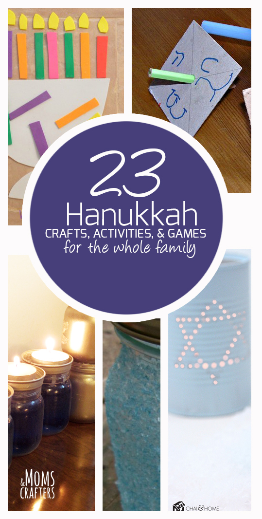 23 Hanukkah Crafts And Activities For The Whole Family