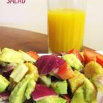 Rainbow Avocado Salad Recipe