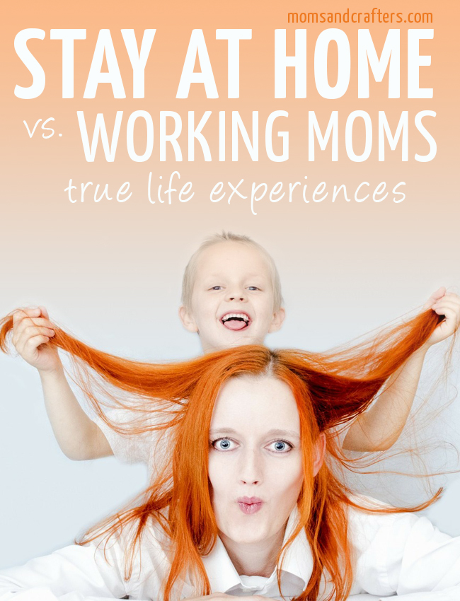 the battle of stay at home moms and If you're wondering whether you can afford to be a stay-at-home parent, find out how to calculate what it costs to work versus the cost of quitting work.
