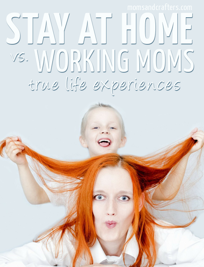 Stay at Home vs Working mom