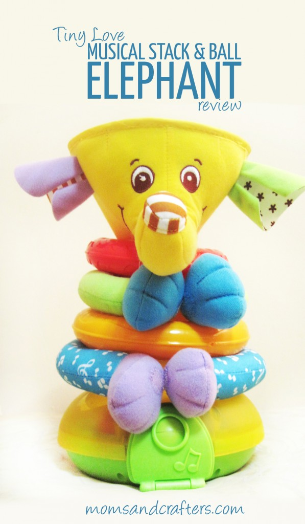 Tiny Love Stack and Ball Elephant Review