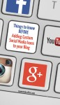 Learn how to successfully incorporate custom social media icons onto your blog! Blogging tips