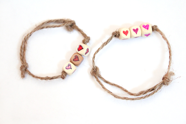heart friendship bracelets