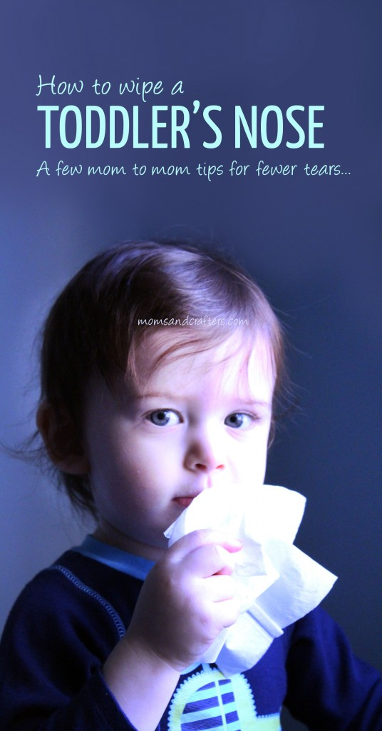 Learn How to Wipe a Toddler's Nose with some easy tips and tricks to eliminate frustrations, tears, and fighting, and get that yummy face clean! These are tried and true tricks that have worked for me.