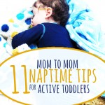 Naptime tips for toddlers