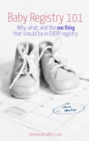 So your new baby is on the way? In this Baby Registry 101, I'll give you some tips for building the perfect registry, based on my experiences with my baby...