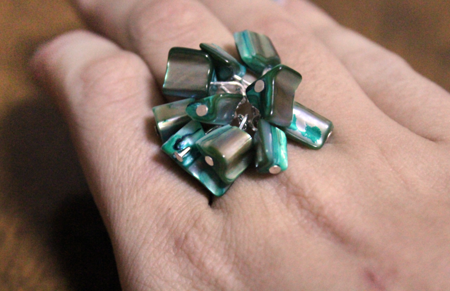 how to make a bauble ring