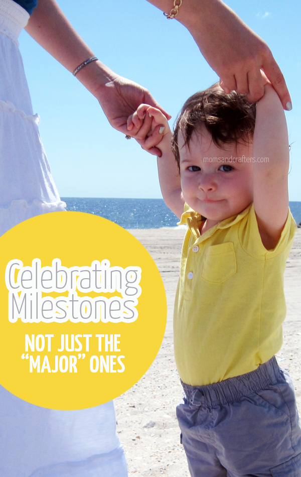 "Celebrating milestones is something every parent does. But do you celebrate those ""little"" developments just as much? And what about those parents who have to wait a little longer? Which firsts do YOU celebrate?"