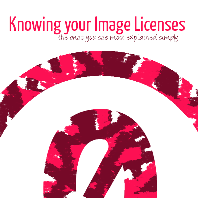 Knowing your photo licenses