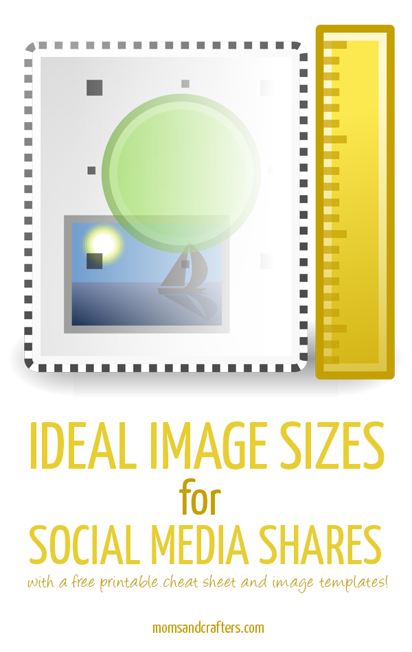 Handy templates and a printable cheat sheet to help you create the ideal photo sizes for social media shares & maximize impact and traffic to your blog! Click to read more and for more blogging tips