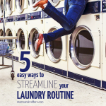 5 Ways to Streamline your Laundry Routine