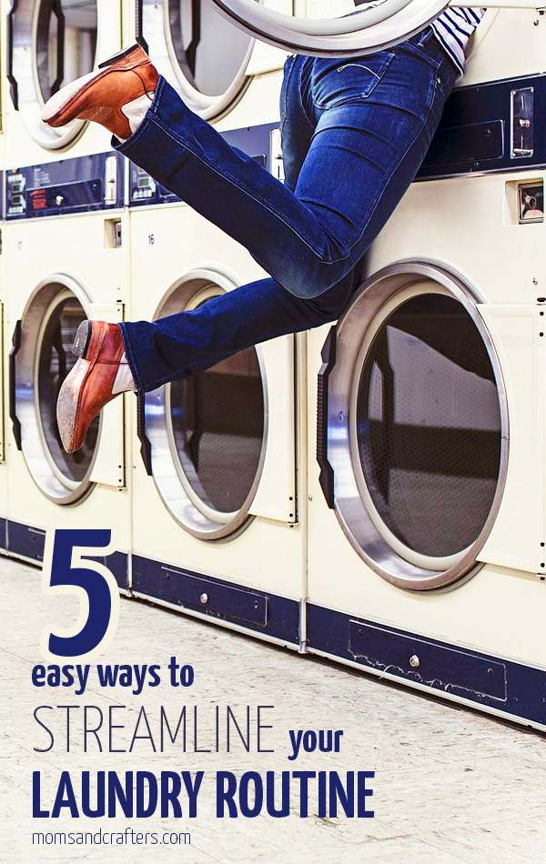 5 ways to streamline your laundry routine - making laundry day much easier! (Plus an awesome laundry sweepstakes from Purex Powershot at the end)
