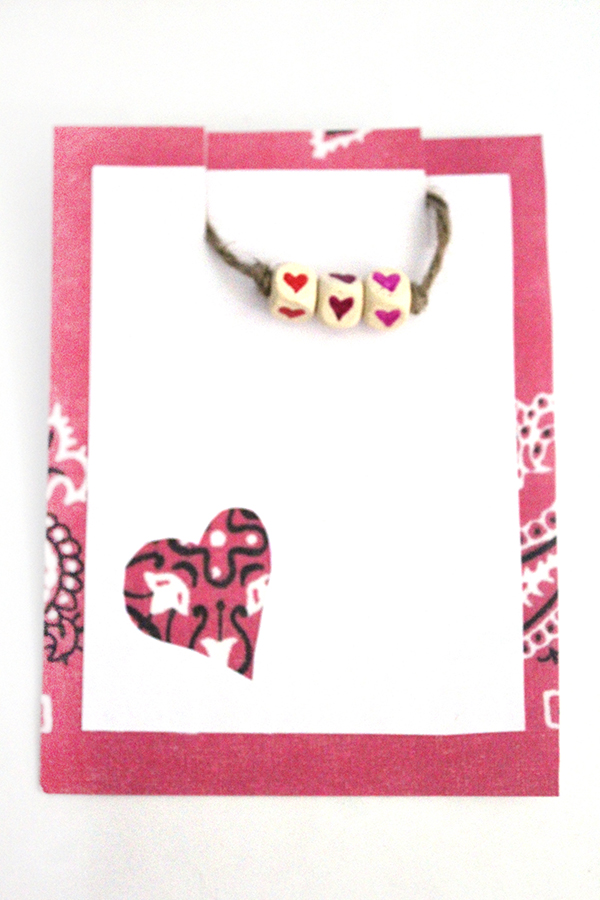 valentine's day card craft