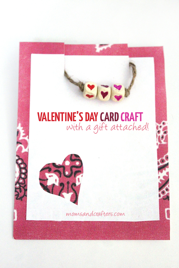 Make this adorable valentine's day card craft using supplies you likely have! It's easy, fun, and includes a bonus gift as well...