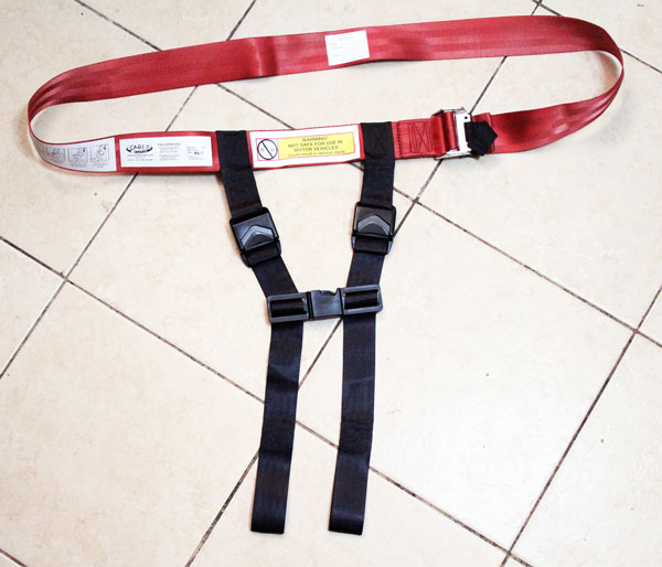 Cares airplane safety harness review