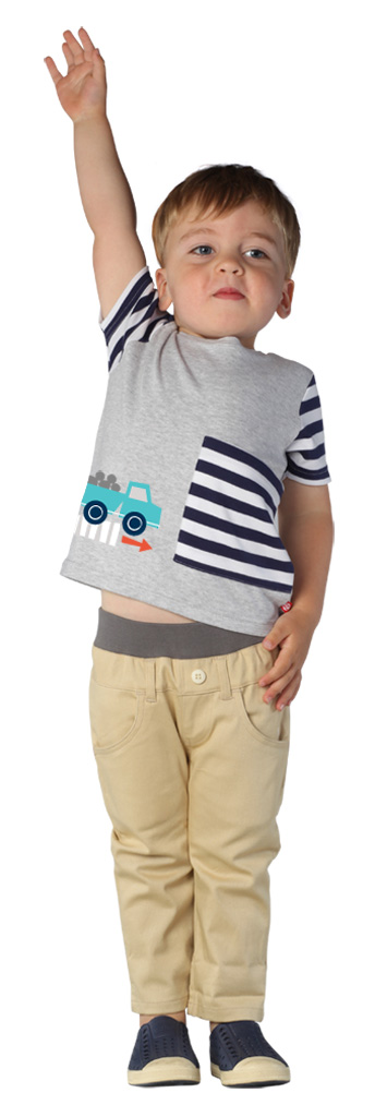 Beep Beep Toddler Big Pocket Tee