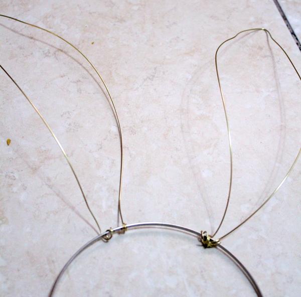 DIY Bendy Bunny Ears Headband Craft