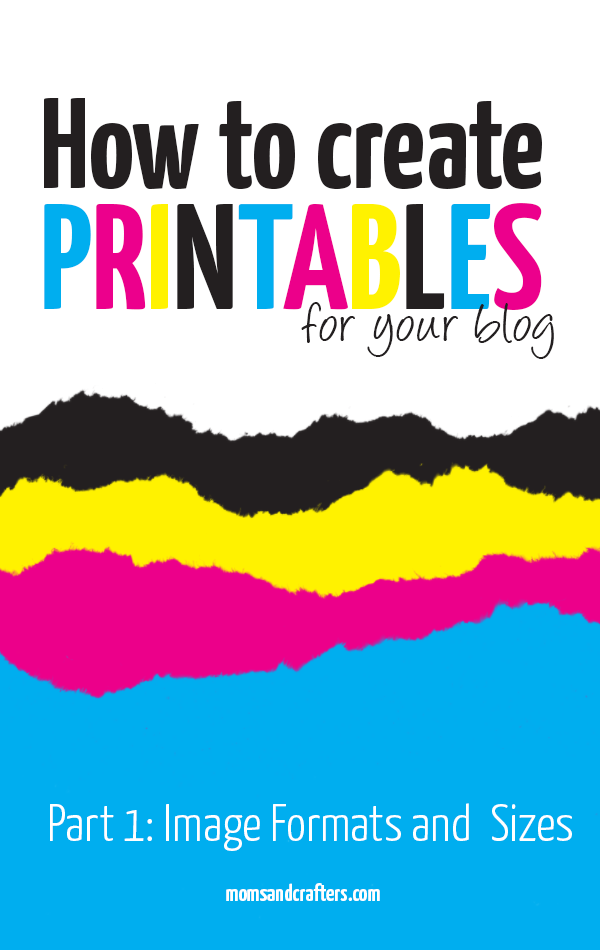 If you were wondering how to make a printable for your blog, you'll need to check this out! The first part of this micro-series teaches which image formats, colors, and sizes to use to make your printable look great when printed!