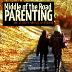 Many people will fall into the middle of the road parenting category, yet I like to think of it as a method. Read about it here, and learn why I do it, and how...