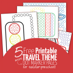 free printable travel sheets do a dot mini