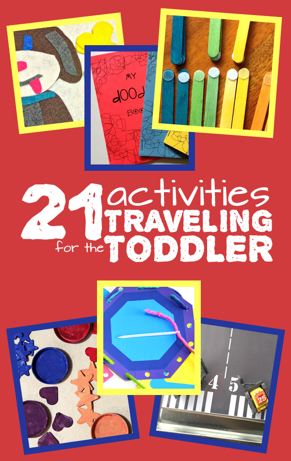 travel activities for todders moms and crafters