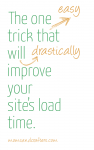 Click on the link to find out the one simple trick that will drastically improve your blog's page load time, helping you rank better in Google and search engine. This is the one blogging tip that will save you so much time and anxiety!