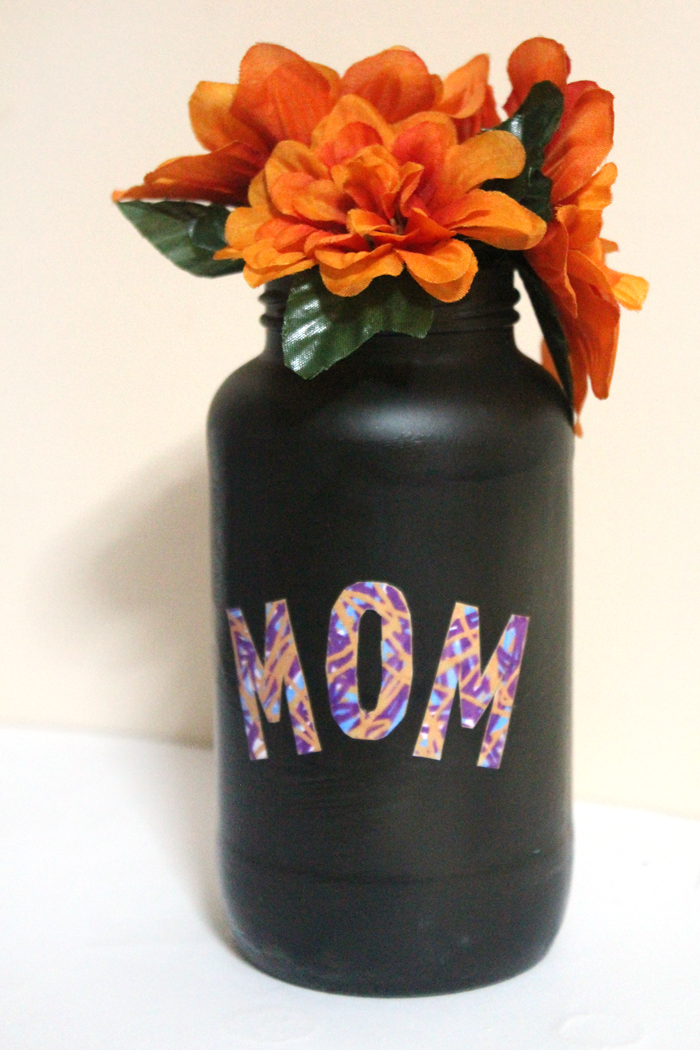 Mothers Day Vase Craft Moms And Crafters