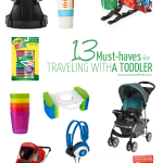 Must Haves for Traveling with a Toddler