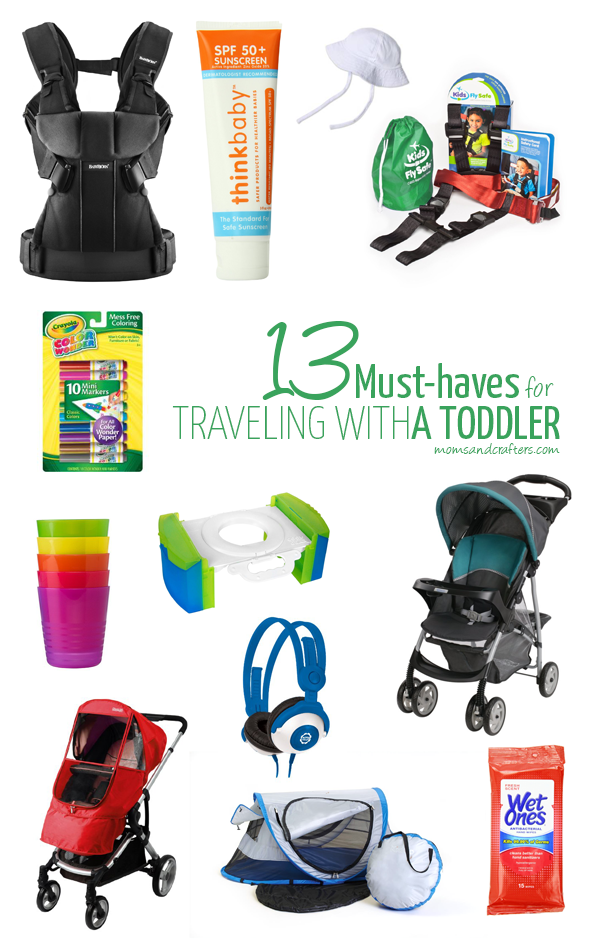 Traveling with toddlers can be tough, but having the right gear can make things so much simpler! Check out these 13 must haves for traveling with a toddler, based on my  own experiences.