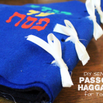 DIY Sensory Haggadah for Toddlers