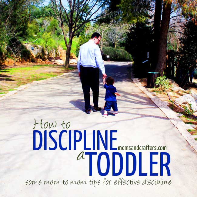 How to discipline a toddler - read this practical guide for effective discipline for toddlers. Teach them to be self-disciplined and gain yourself some sanity!