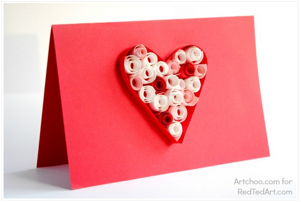 Images Of Hand Crafted Valentines Day Cards