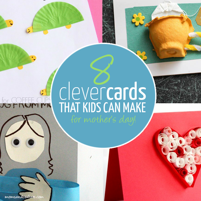 Check out these 8 clever kid-made mother's day cards! They offer smart puns and clever use of materials.