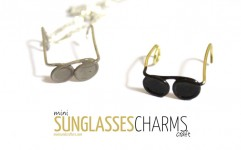 You won't believe how easy these sunglasses charms are to DIY! Click on the link for full step by step instructions for this super easy jewelry making craft.